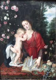 Peteris Paulius Rubensas - Mergelė Marija su vaiku