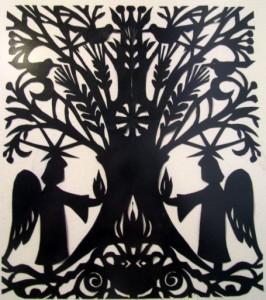 Eglės Dvarionaitės-Vindašienės karpinis